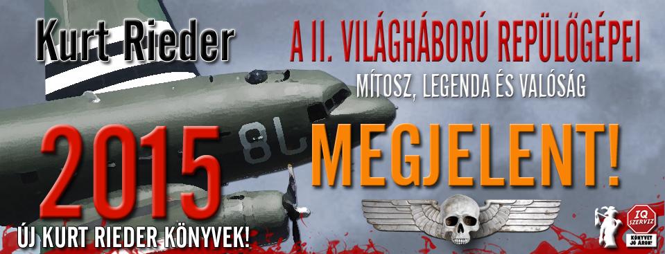 Kurt Rieder – A II. világháború repülőgépei