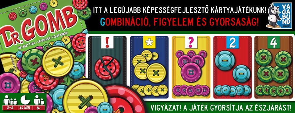 Dr. Gomb – Gombinációs játék