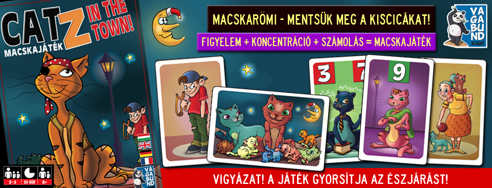 CatZ in the town! – Macskajáték